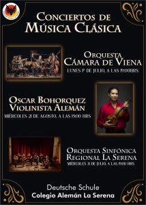 Afiche Concierto Orquesta Cámara de Viena